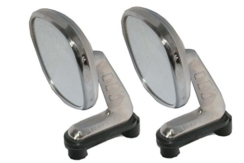Allegro Mirror (Enfield County Morris Marina, Austin Maxi, Allegro Chrome Lh & Rh Tex Wing Mirror Kit)