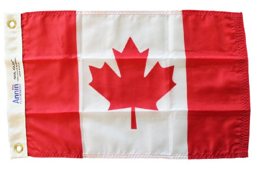 12x18' Nylon Flag - Canada - 12 in x 18 in Nylon World Flag