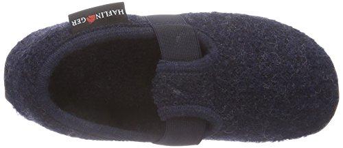 HaflingerJonas - Zapatillas de Estar Por Casa niños azul - Bleu (79 Kapitän)