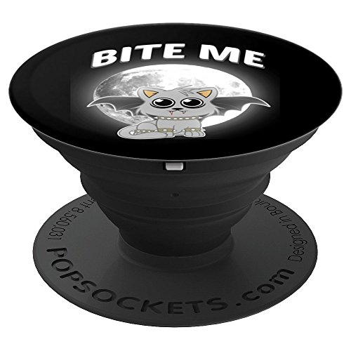 Cat - Dracula - Halloween - Scary - Trick or Treat - PopSockets Grip and Stand for Phones and Tablets -