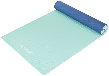 Amazon.com : Incline Fit Yoga Mat Anti Slip Double Sided ...