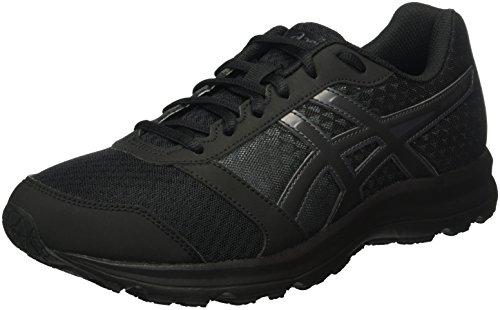 Asics Herren Patriot 8 Laufschuhe, Mehrfarbig (Onyx/Black/Dark Steel), 42 EU