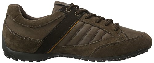 Geox Uomo Snake B, Zapatillas para Hombre Braun (CIGARC6007)