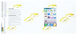 Graphics and More Protective Skin Sticker Case for iPhone 3G 3GS - Non-Retail Packaging - Wedding Rings - Love Romance