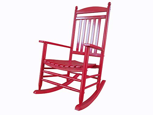 Rockingrocker A040rd Red Porch Rockerrocking Chair Easy To