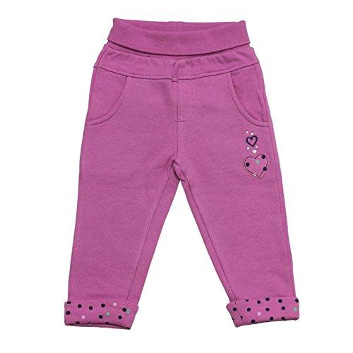 SALT AND PEPPER Baby-Mädchen Hose B Trousers Little Ones Uni, Rosa (Crocus 864), 92