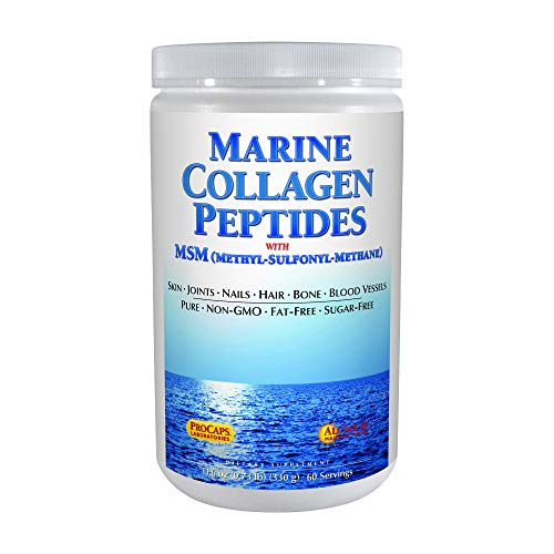 Andrew Lessman Marine Collagen Peptides with MSM, 60 Servings