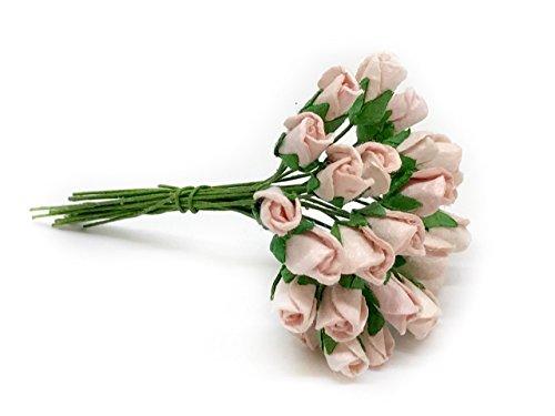 1cm Blush Pink Flowers, Pink Roses, Pink Flowers, Paper Flower, Pink Wedding, Flower Backdrop, Paper Flowers, Wedding Flowers, Blush Wedding, Miniature Rose, Scrapbooking Flowers 50 Pieces