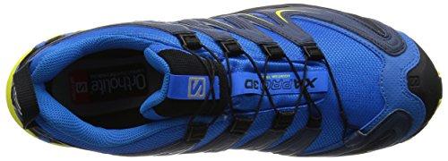 Salomon Xa Pro 3d Gtx, Herren Trekking- & Wanderhalbschuhe Blau (blu Brillante / Slateblue / Corona Giallo)
