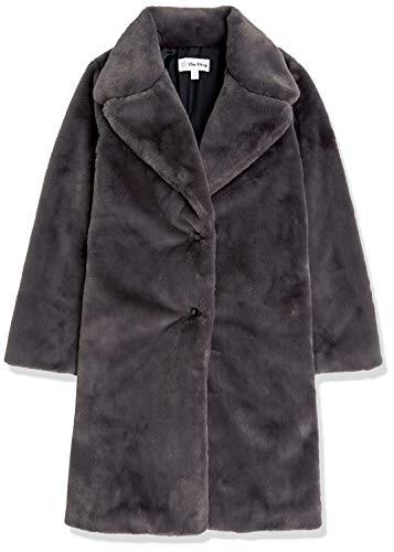 The Drop Women's Kiara Loose-Fit Long Faux Fur Coat