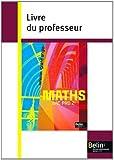 Mathématiques Bac Pro 2e : Livre du professeur