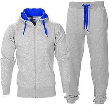 Juicy Trendz - Chándal - para Hombre Gray-Blue S: Amazon.es: Ropa ...