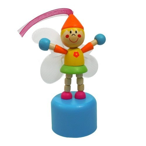 Push Button Wooden Fairy by House of Marbles
