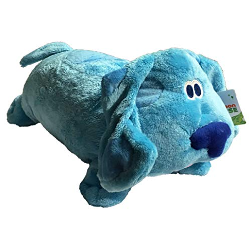 Nick Jr, Nickelodeon, Blues Clues, Blue Convertible Pillow Plush (Toys Blue Clues)