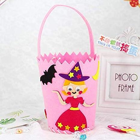 Bolsa de regalo para niños de Halloween, hecha a mano, tela ...