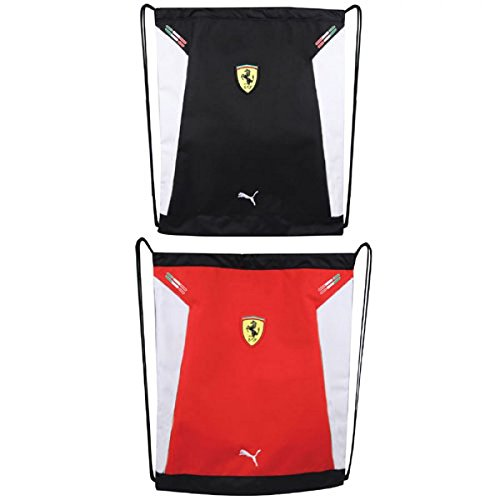 puma-mens-ferrari-replica-carrysack-rosso-corsa-white-black-one-size