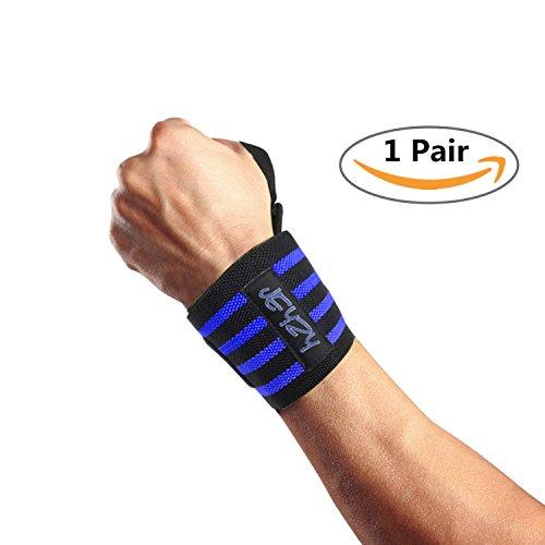 """Wrist Wraps Professional Quality by Jeyzy - 14"""",18"""",20"""""""