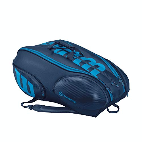 Vancouver Racket Bag, Ultra Collection - 15 Pack (Blue) (The Best Of Vancouver)
