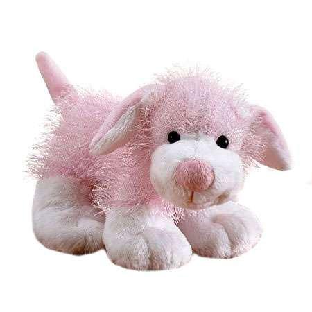 (Webkinz Plush Stuffed Animal Pink and White Dog)