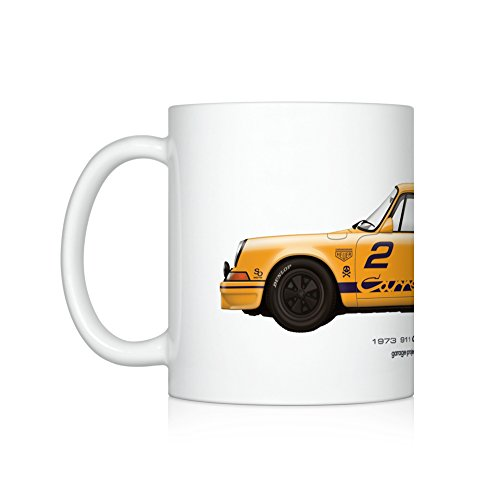 (GarageProject101 1973 911 Carrera RS (GP Edition) illustration Coffee Mug)
