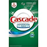 Cascade Advanced Power Dishwasher Powder with Dawn 155 Oz (4.39 Kg) 9.68 LB Detergent Grease Fighting Power Fresh Scent