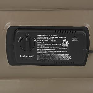 Serta Raised Twin Air Mattress with Insta III Pump