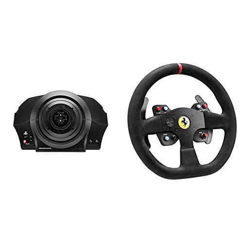 Thrustmaster T300RS Racing Wheel Servo Base (PS4, PS3's PC) y F599XX EVO 30 Wheel Alcantara Edition Add-On (para PC, PS4's Xone)