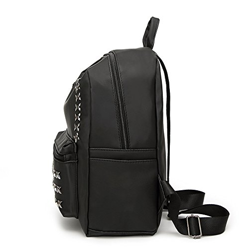 ANNE - Bolso mochila  para mujer negro AN54F26-Large large AN54F27-Large