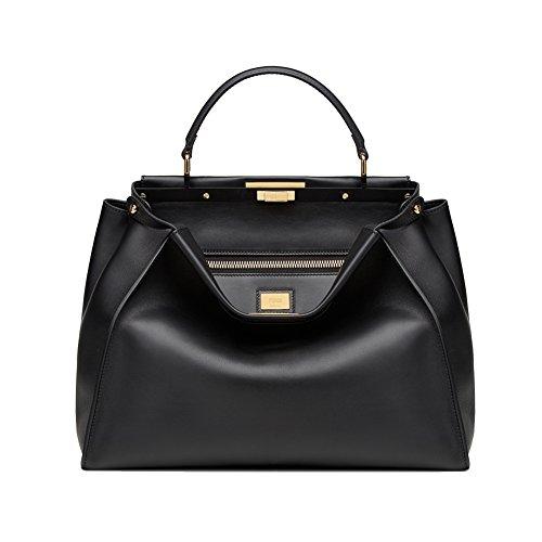 fendimedium-peekaboo-black-leather-handbag
