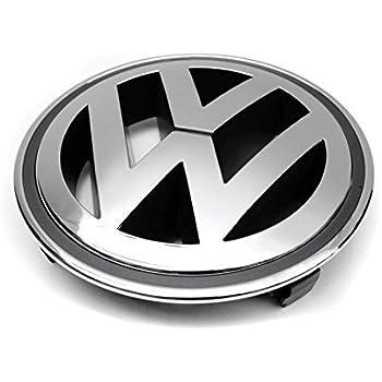 volkswagen front grille emblem chrome genuine oem passat jetta tiguan gti automotive. Black Bedroom Furniture Sets. Home Design Ideas