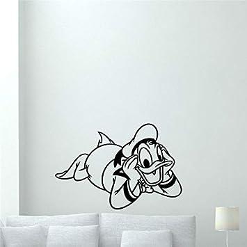 Imprimir decoración de la habitación de los niños Pegatinas de Pared Pegatinas de Vinilo de Dibujos Animados Arte Cartel Decorativo para niños decoración del hogar 58cmX39cm: Amazon.es: Hogar