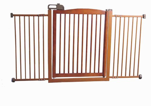 Richell 94134 One Touch 150 Pet Gate with Autumn Matte - Richell Matte Autumn
