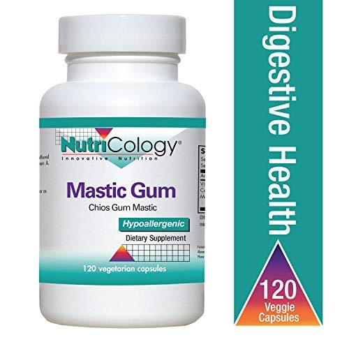- Nutricology Mastic Gum Vegetarian Capsules, 120 Count