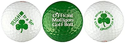 Irish w/ Mulligan Variety Golf Ball Gift Set