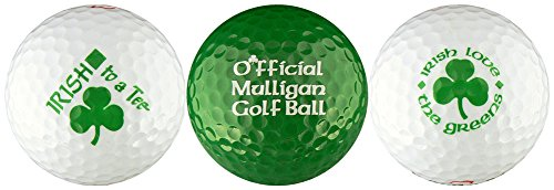 Irish w/ Mulligan Variety Golf Ball Gift Set by EnjoyLife Inc (Image #1)