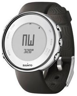 Suunto Lumi Wrist-Top Computer Watch with Altimeter, Barometer, Compass, Sunrise/Sunset Timer, and Weather Indicator (Sportif Black) by Suunto