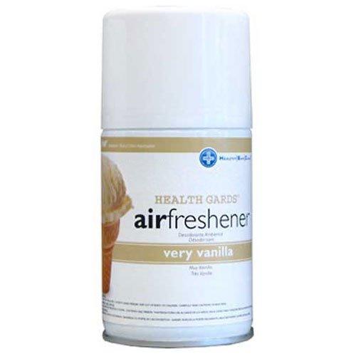 AirWorks 7915 Metered Aerosol Air Fresheners, Very Vanill...