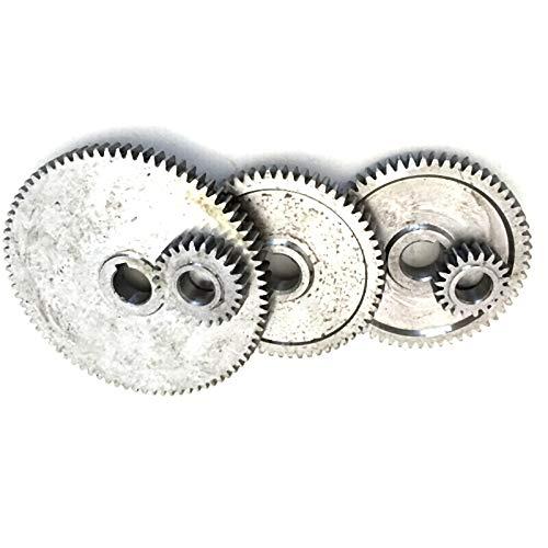 Set Engranajes de Torno Engranajes de Torno Engranajes de M/áQuina de Corte de Metal TOOGOO 17Pcs