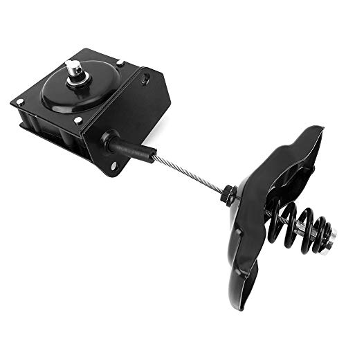 Qiilu Spare Tire Hoist Carrier Winch Fit for Dodge Ram 924-538 (Dodge Spare Tire Hoist)