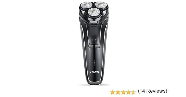 Afeitadora eléctrica para hombres, afeitadoras eléctricas RIWA con ...