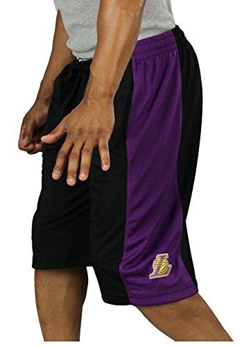 Los Angeles Lakers NBA Big and Tall Mens Basketball Shorts, Black (3X-Large (Nba Basketball Shorts)