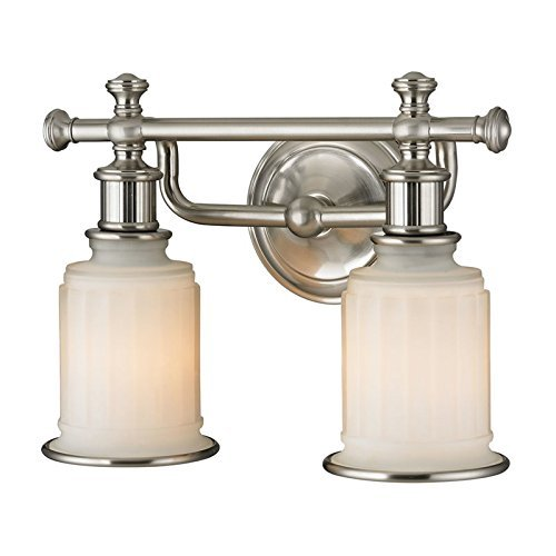 ELK Lighting 52001/2 Acadia Collection 2 Bath Light, 10 x 13 x 7