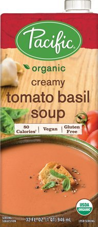 Pacific Foods Soup Vgn Tomato Basil Org