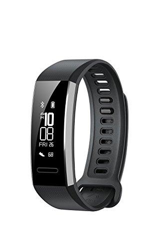 Huawei Band 2  All-in-One Activity Tracker Smart Fitness Wristband |Multi-Sport Mode| Heart Rate | 5ATM Waterproof, Black (US Warranty)