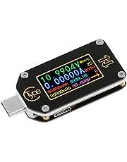 Innovateking-EU Typ-C tester USB typu C, woltomierz, multimetr, USB, miernik napięcia, prądu, tester napięcia Bluetooth, PD, amperomierz, 2-drożny, IPS kolorowy wyświetlacz LCD TC66C