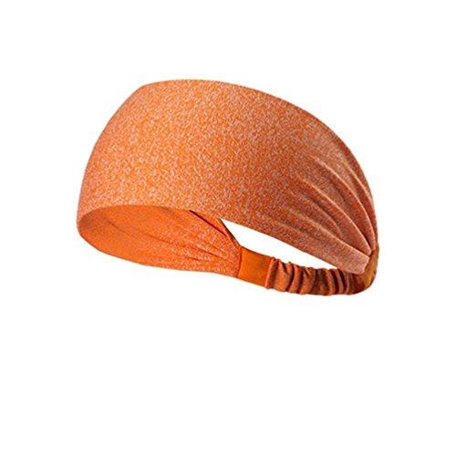 4pc Unisex Elastic Wicking Headband Yoga Headwrap Non-Slip Running Hairband Headband