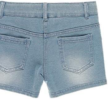 boboli Short Felpa Denim Bambina Modello 499079