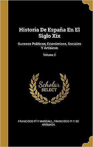 Historia De España En El Siglo Xix: Sucesos Políticos, Económicos ...