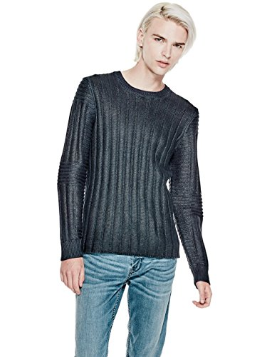 GUESS Men's Coated Crewneck - Guess Men Sale