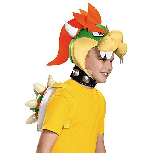 Super Mario Bros Bowser Costume Kit by Disguise (Mario Bros Bowser Costume)